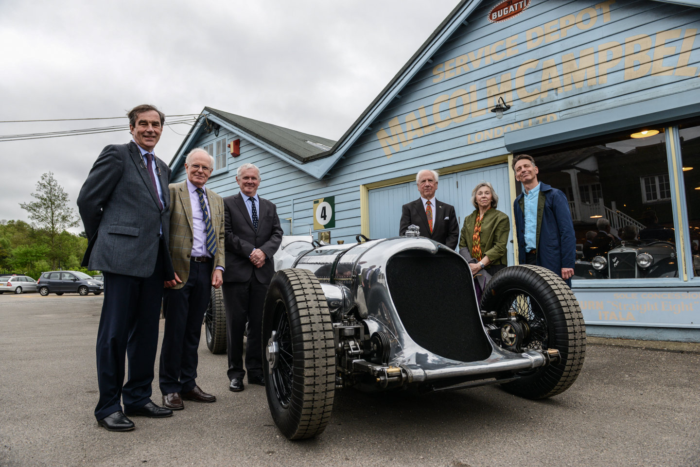 The Napier-Railton at Brooklands