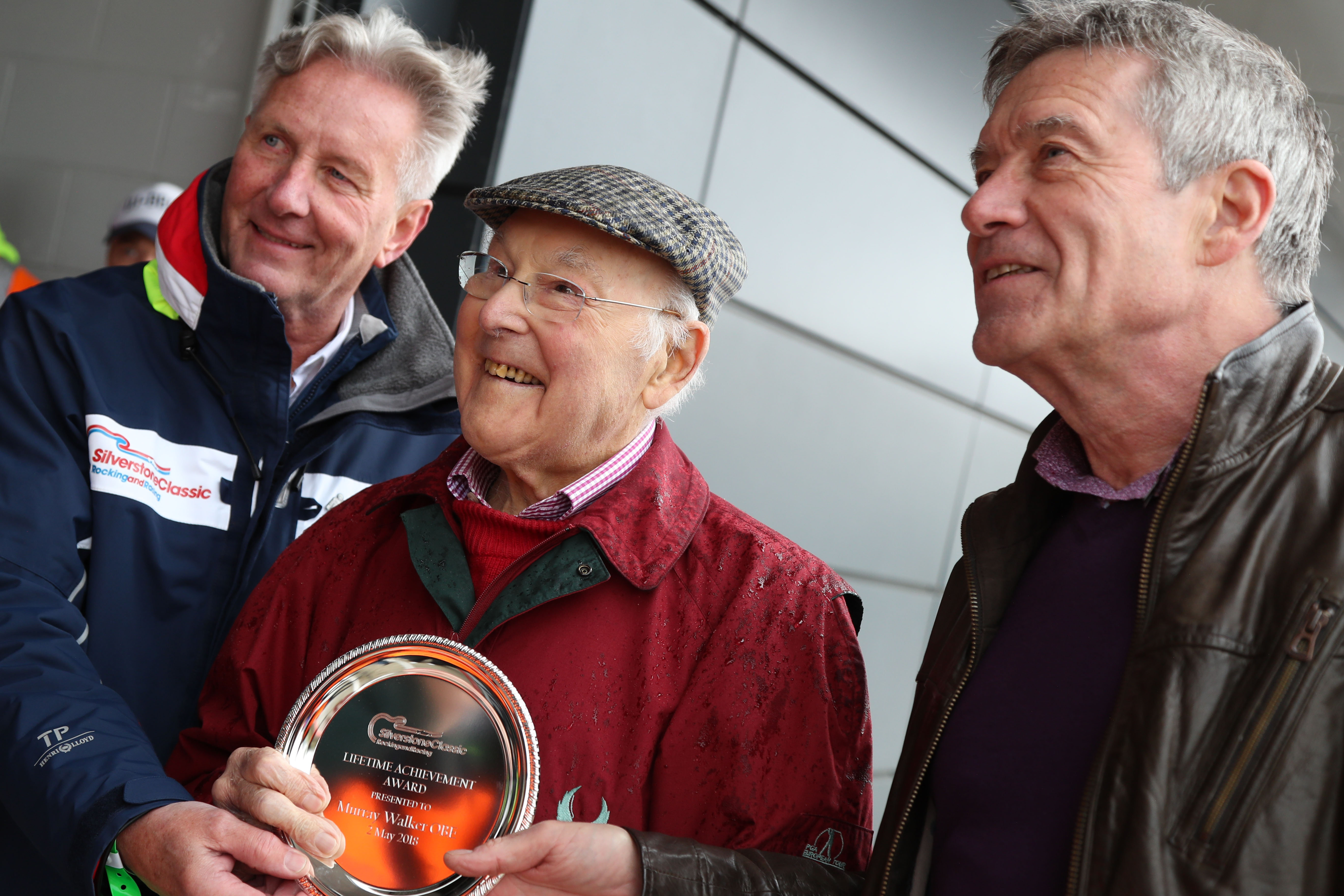 Nick Wrigley, Murray Walker and Tiff Needell