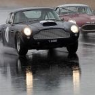 GTs in the rain at Silverstone