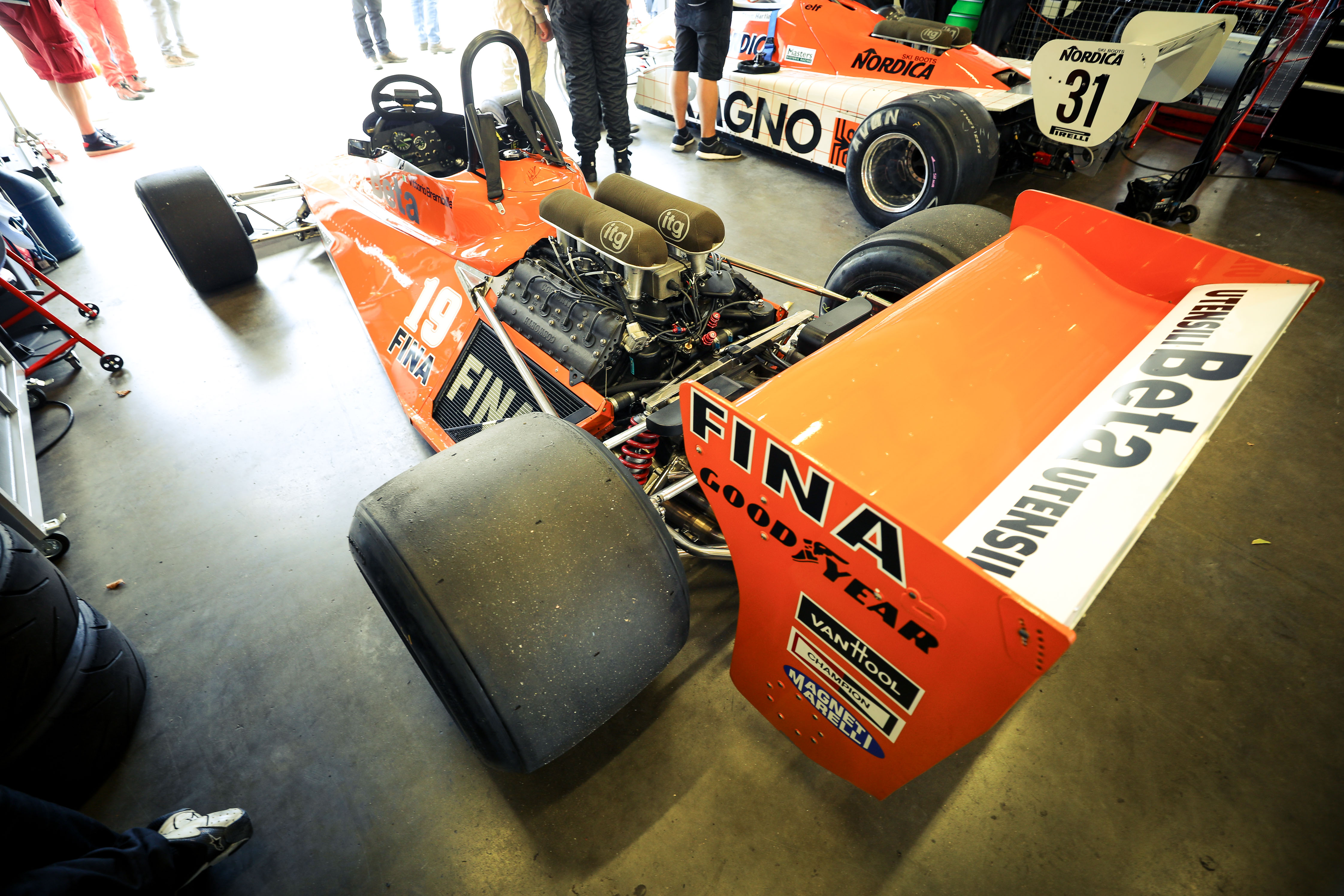 FIA Masters Historic Formula One field had two race of the Oldtimer Grand Prix