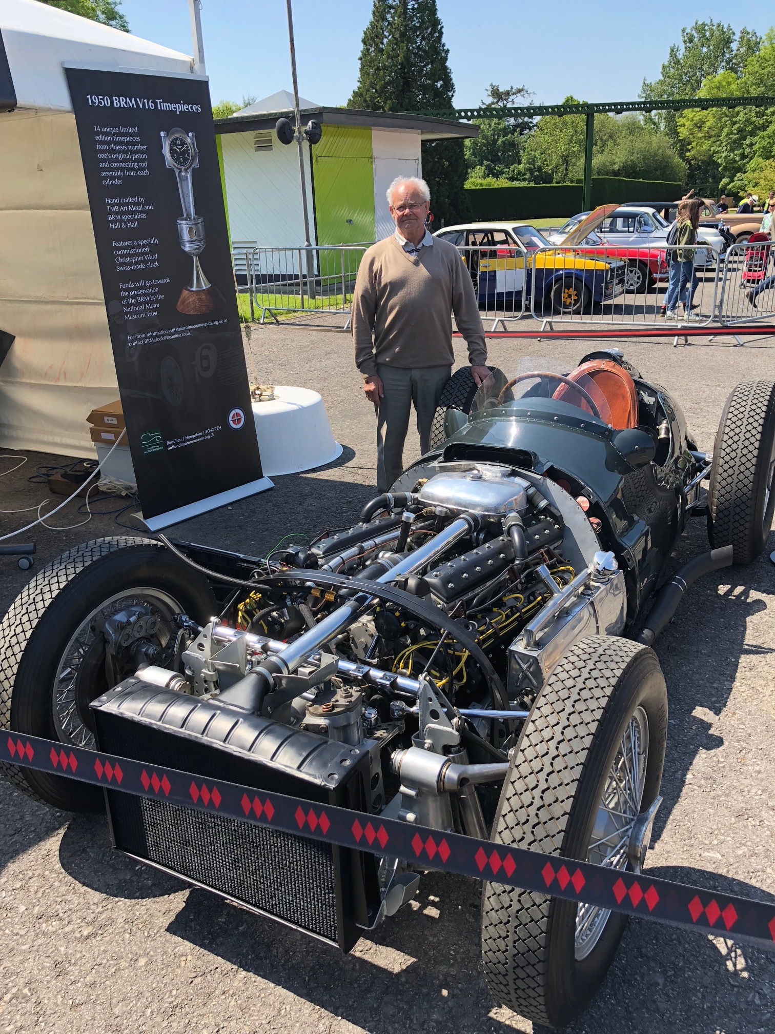 Beaulieu BRM V16 with Tony Draper