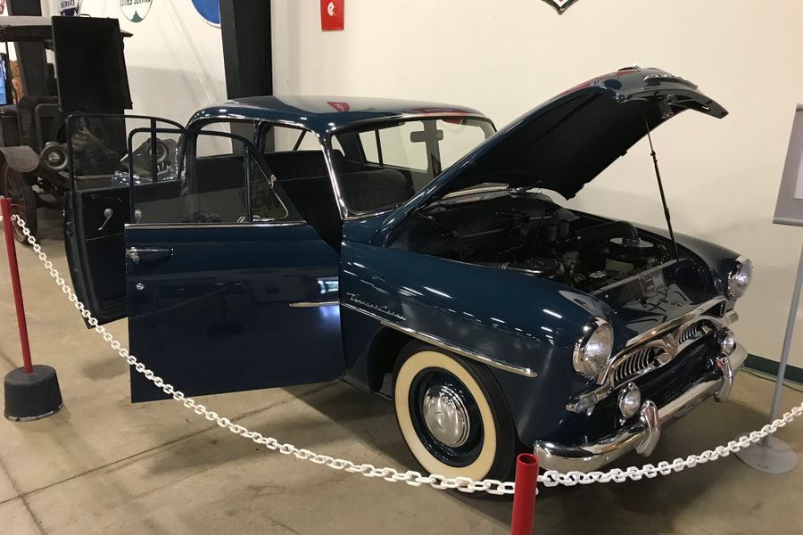 1958 Toyopet, the first Toyota imported to the USA and the last one known in existence.