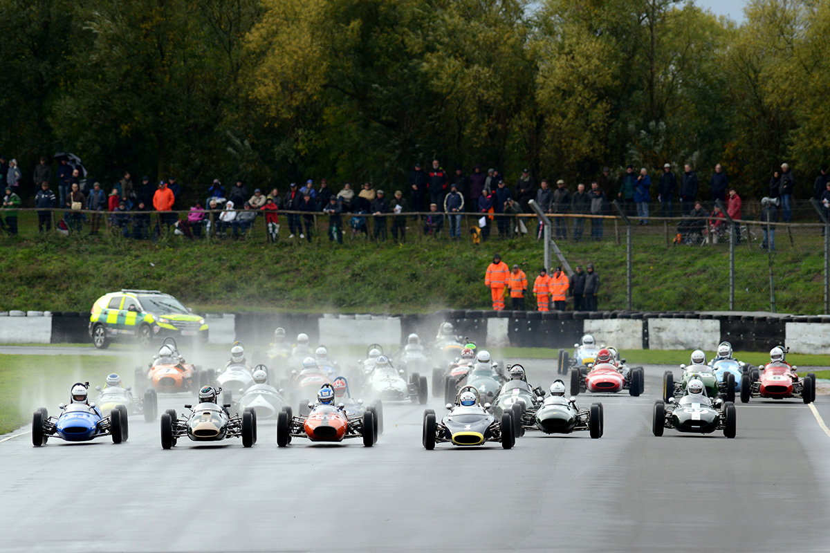 Formula Junior Race Start