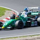 Image of a Benetton F1 car