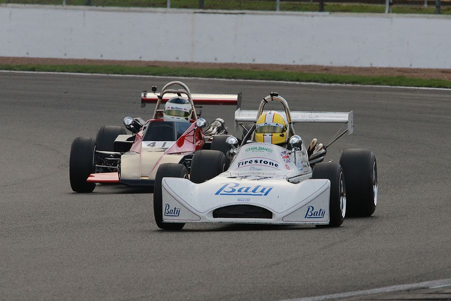 Andy Langridge, March 733 Classic Formula Three