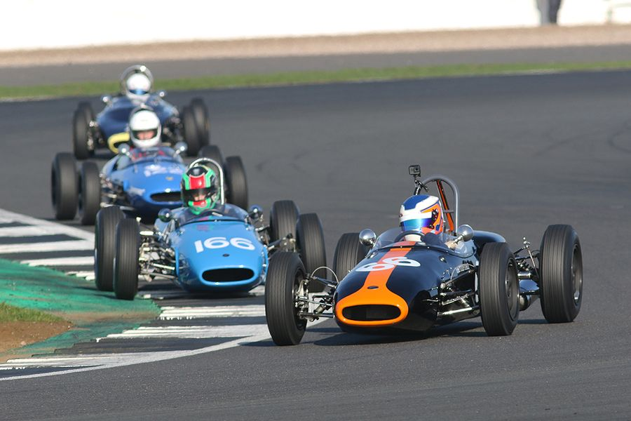 HSCC/FJHRA Silverline Historic Formula Junior Rear Engine Battle