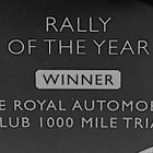 The Royal Automobile Club 1000 Mile Trial Claims Top Award