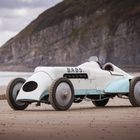 Aero-Engined Record Breakers at London Classic Car Show