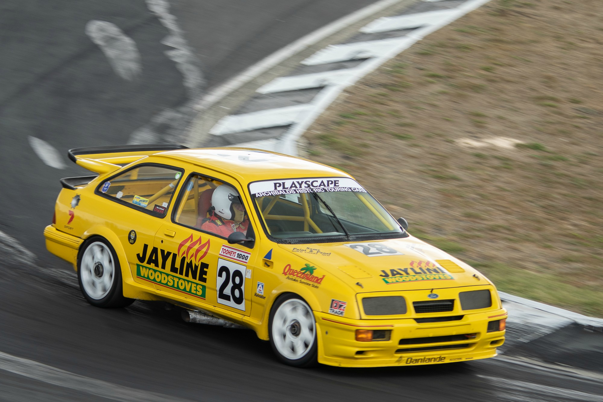 Brett Stevens, Ford Sierra Cosworth RS500