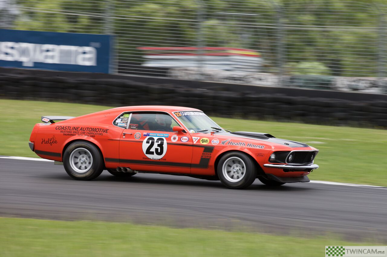Ford Boss Mustang - Brett Willis