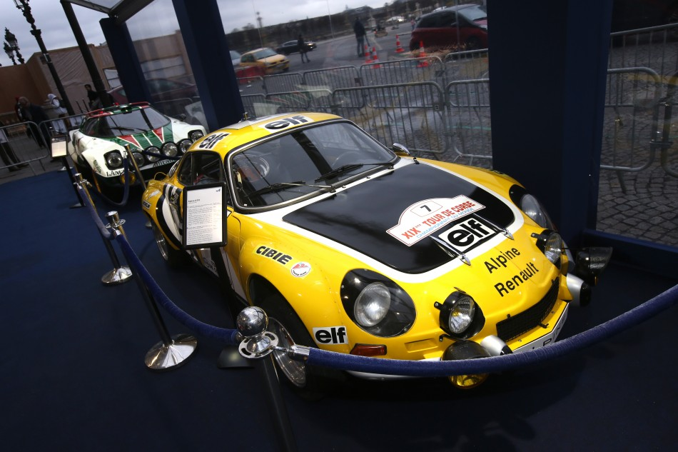 Rally Cars on Display in Paris