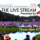 The Live Stream Amelia Island Concours d'Elegance March 10 Noon to 4pm ET