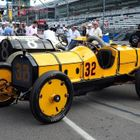 Historic Indianapolis Cars Take to the Track