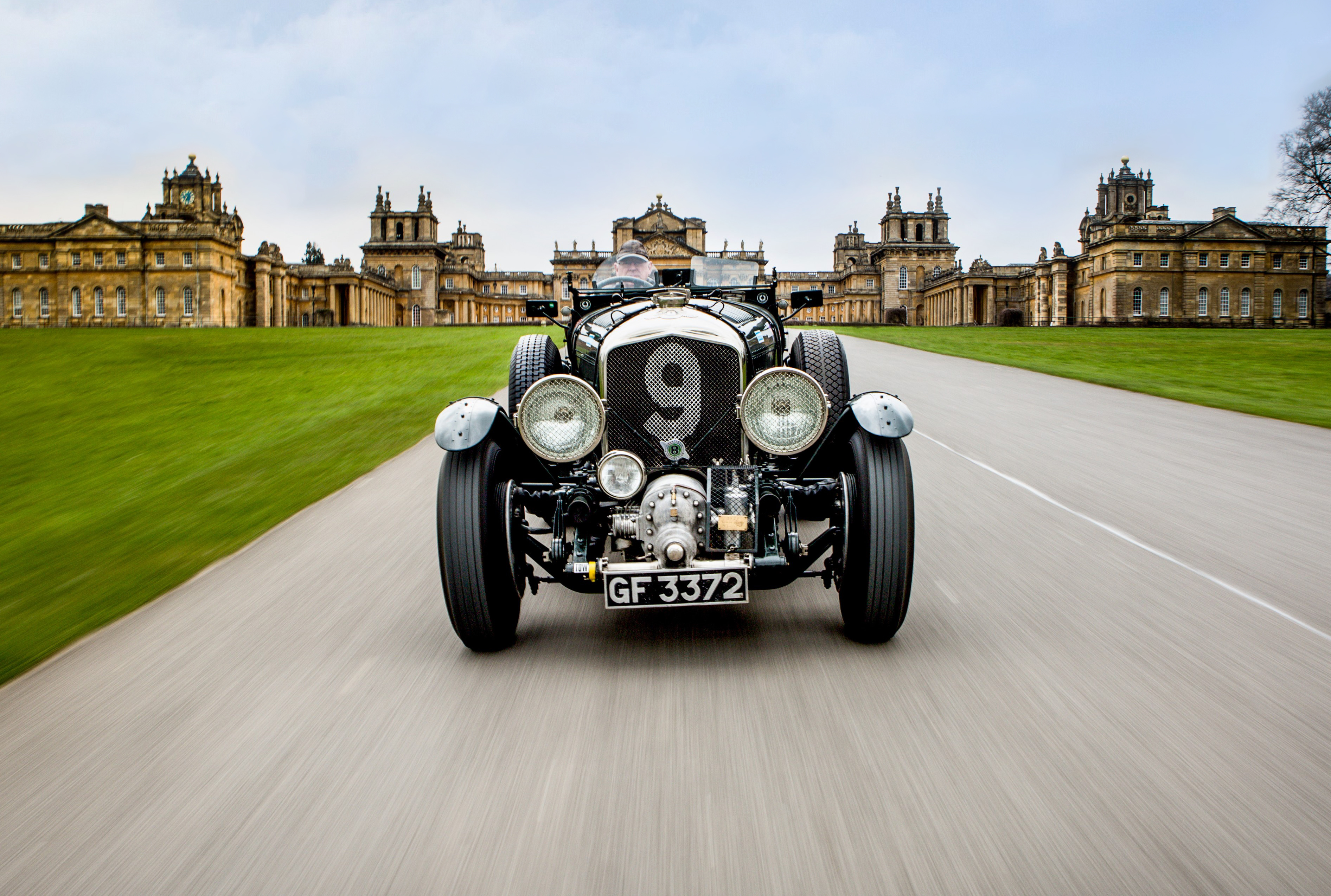 Bentley at Blenheim Palace