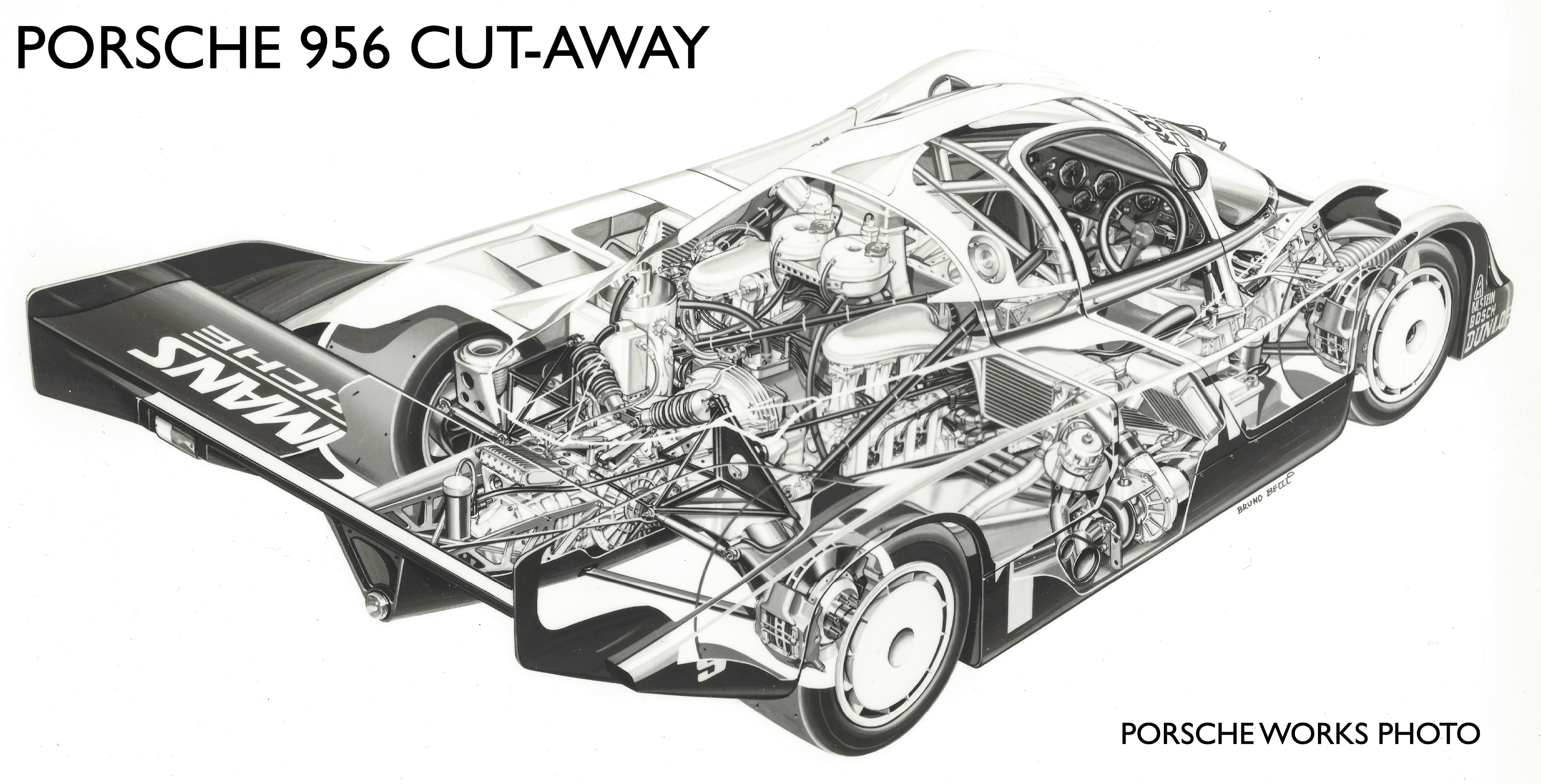 The Tale of Two Champions: the Porsche 956 and 962