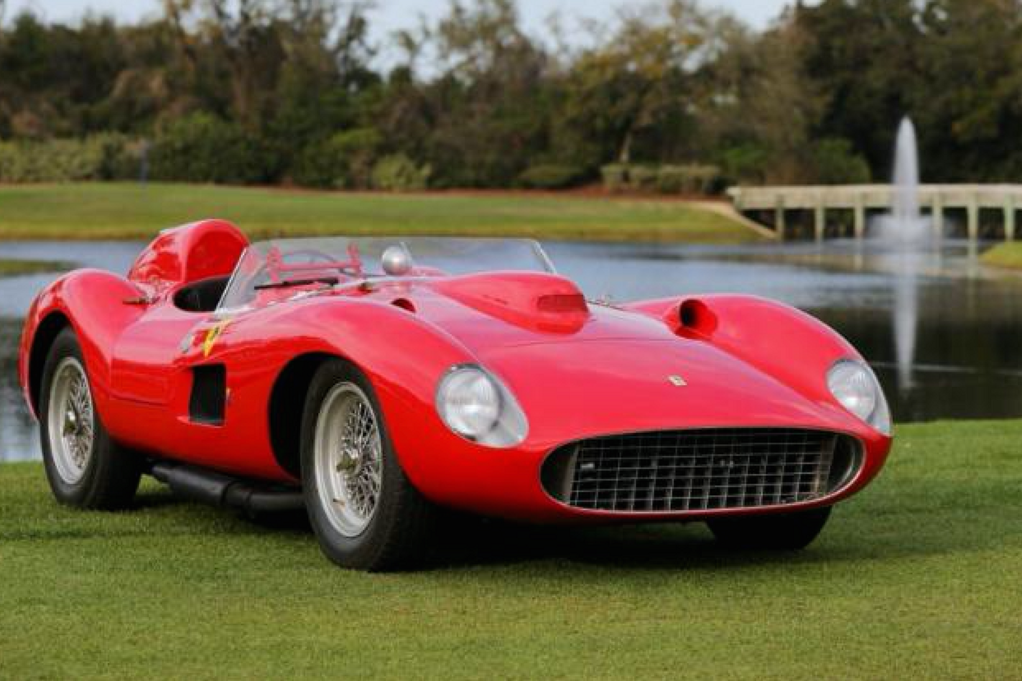 Video The Amelia Island Winning Ferrari 335s Historicracingnews Com