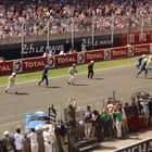 'Le Mans Start' for Bentleys at Silverstone