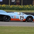 Porsche 917 Parade for Members' Meeting