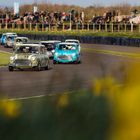 Minis and V8s Take Saturday Race Wins at Goodwood