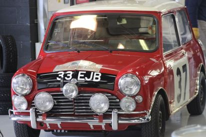 Monte Carlo Rally Winning Mini