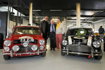 Mini Legends Present Included Paddy Hopkirk and Steve Neal