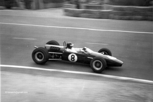 Rindt in his Brabham BT23 in Spain