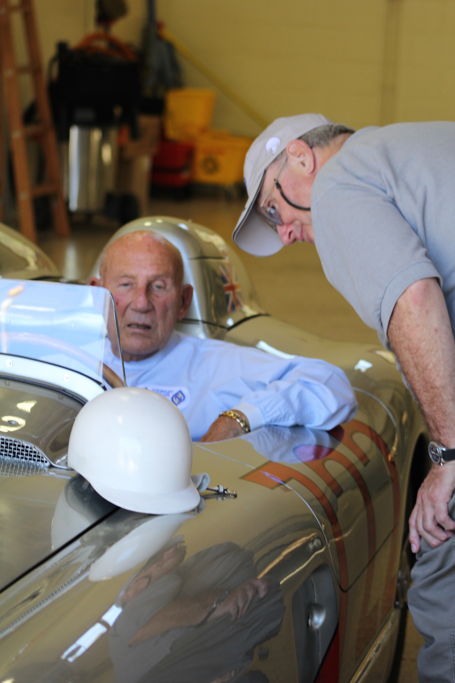 Stirling Moss and Charles Dressing
