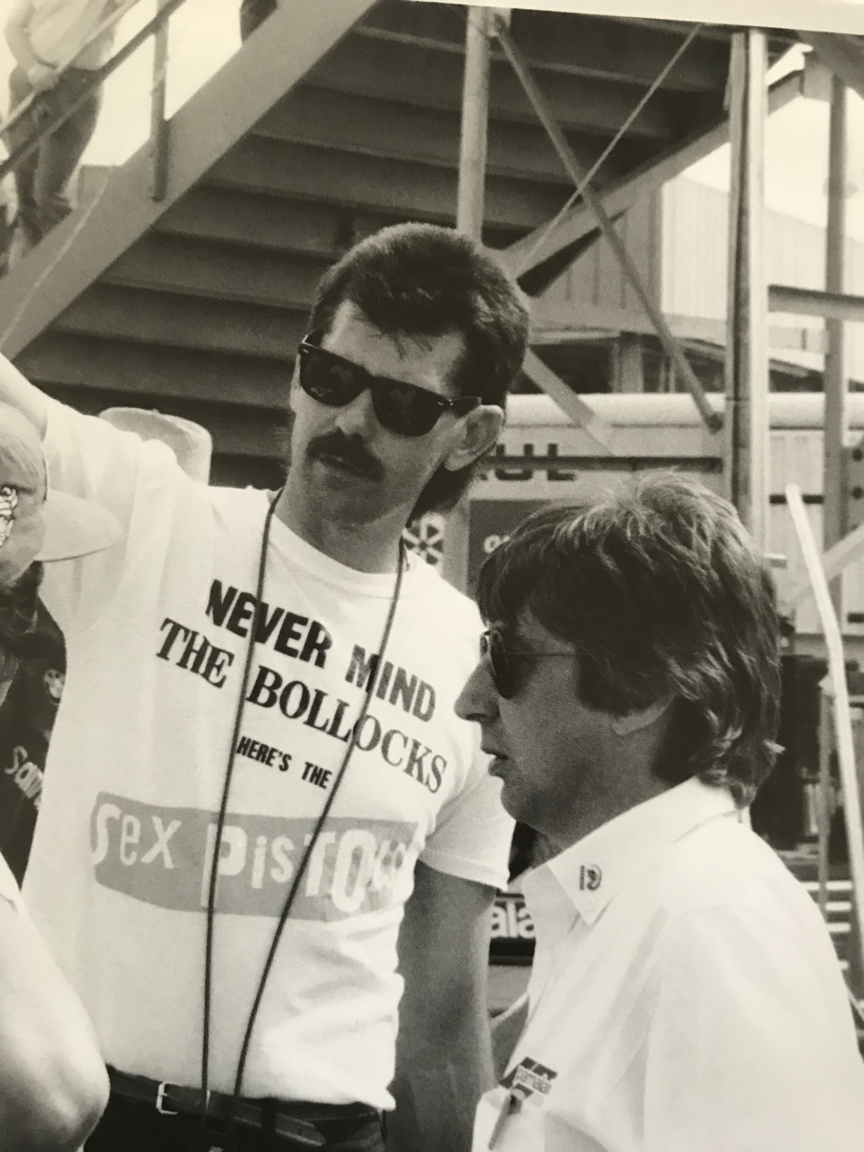 Gordon Murray and Bernie Ecclestone