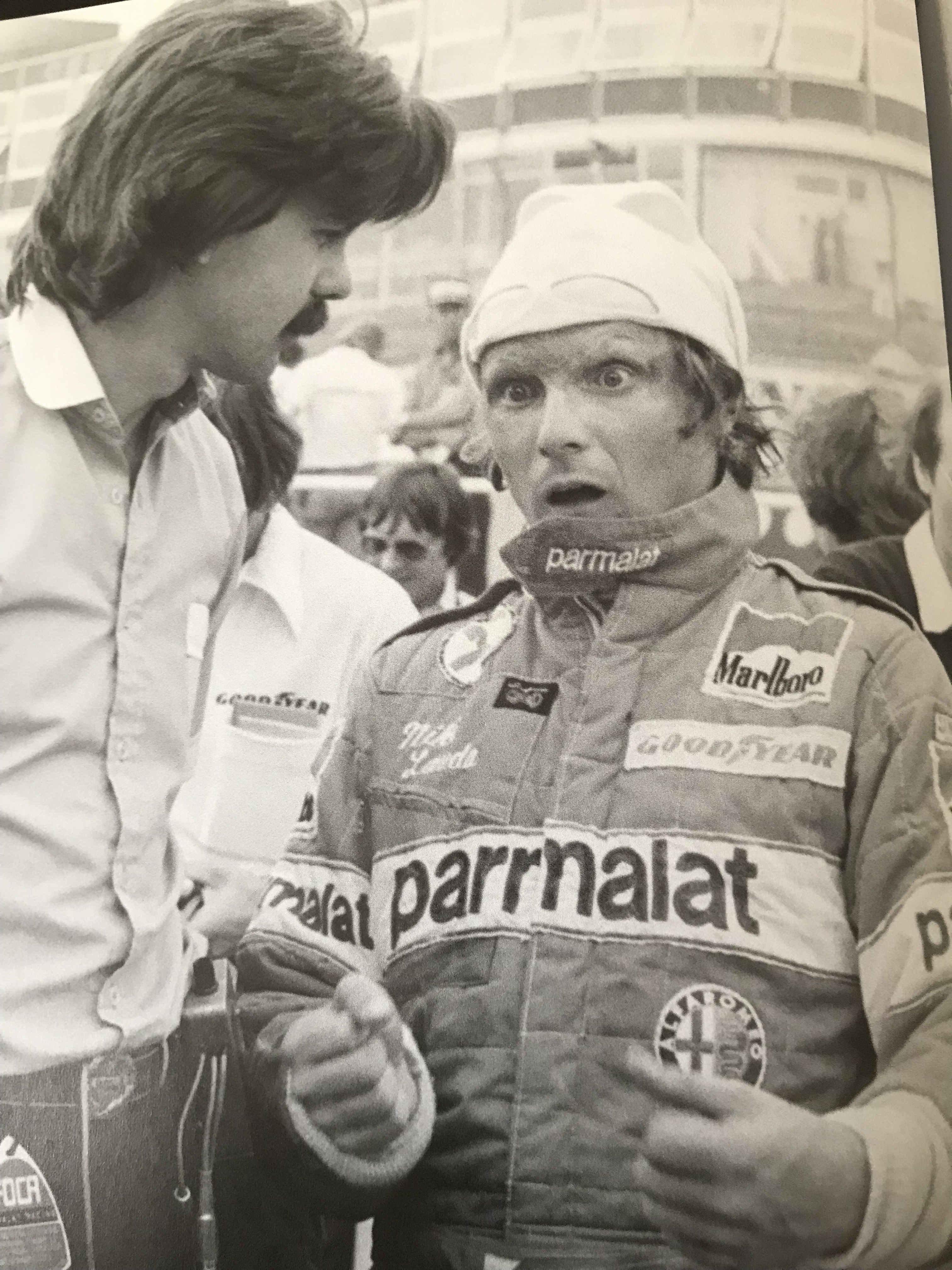 Gordon Murray and Niki Lauda