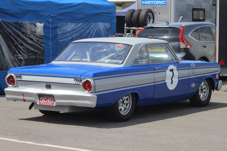 The Ford Falcon of Frank Slevin and Paul Mullen