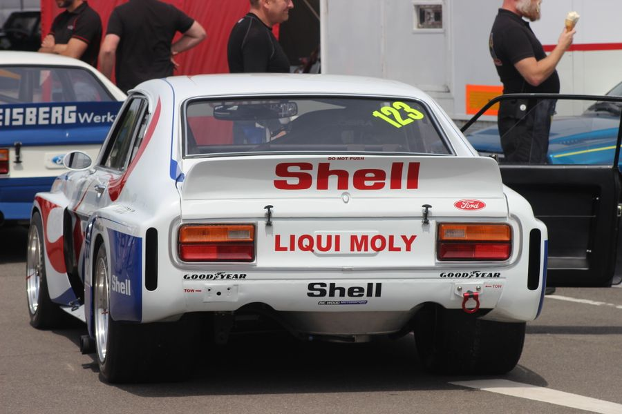Ric Wood's Ford Capri