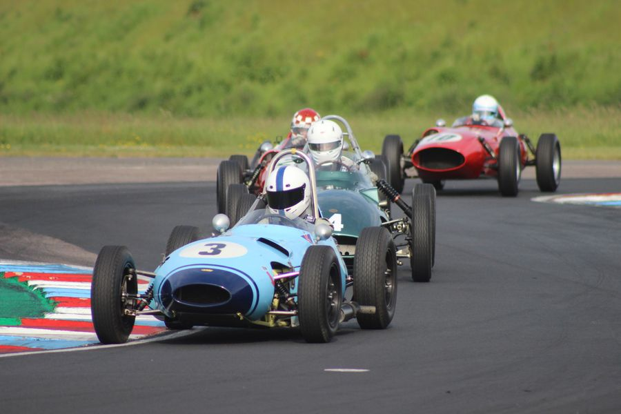 Justin Fleming's Lola Mk2 Heads Formula Junior Pack