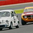Recognition for Abarth and Alfa Romeo at Silverstone Classic