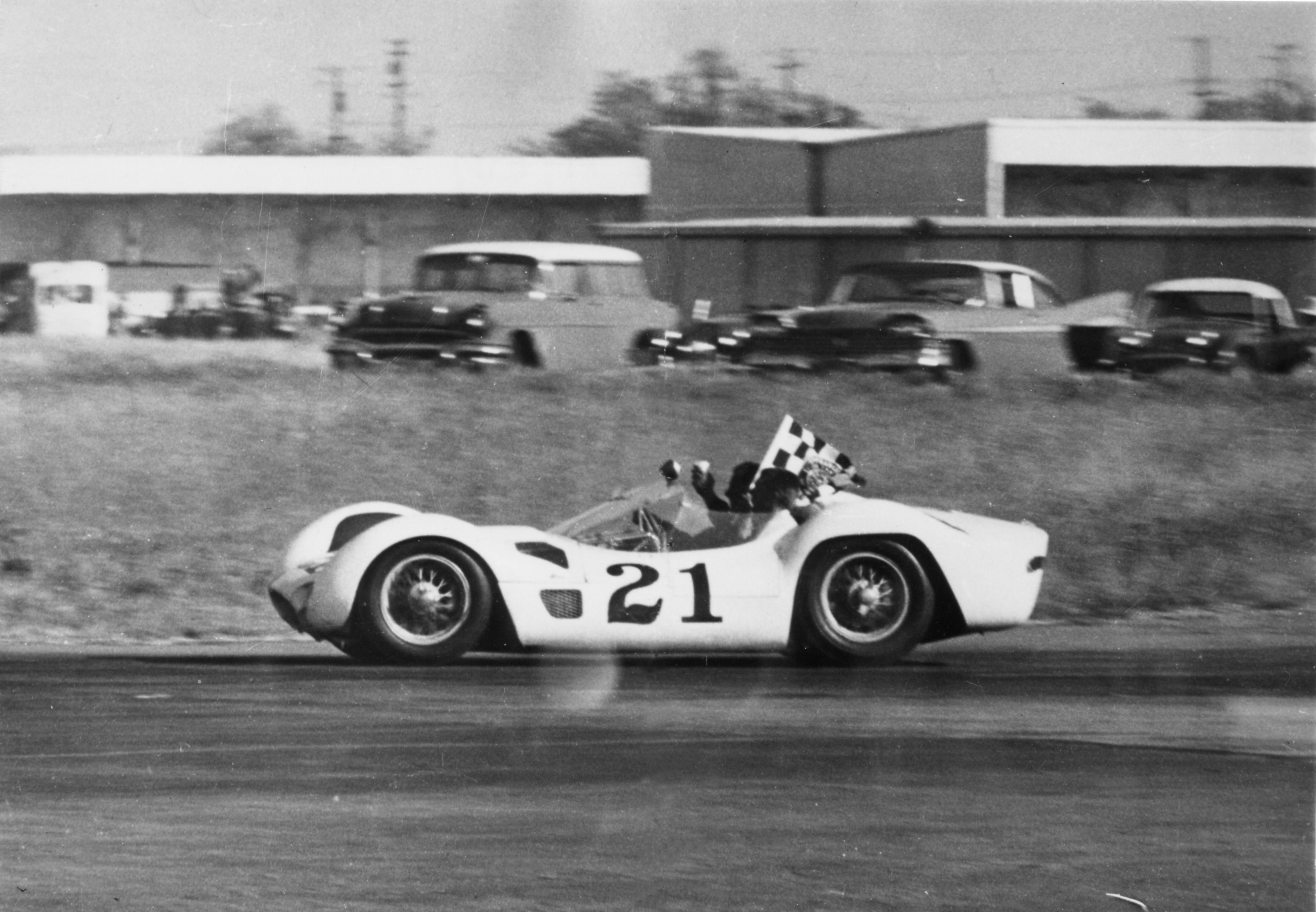Type 61 Birdcage at Sebring