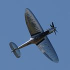 Silver Spitfire Sets Off on Longest Flight!