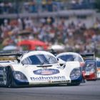 Race Winning Porsche 962 for London Classic Car Show