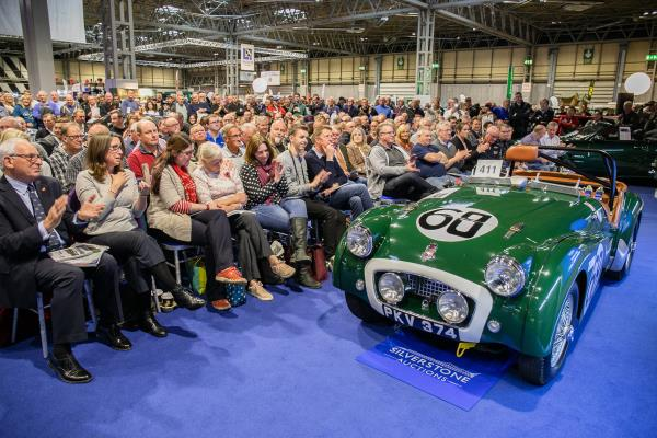 Triumph TR2 at Silverstone Auctions